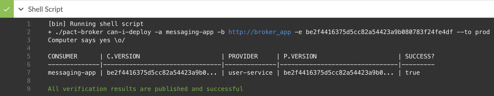kreuzwerker | Integration into build pipeline with Pact Broker and